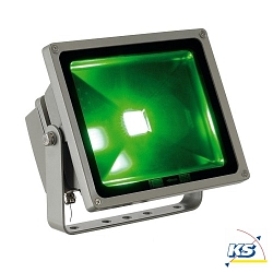 LED Au�enstrahler FLOODI (RF) RGB 30W, silbergrau, 3in1 Fl�chen LED RGB, 100�, IP65