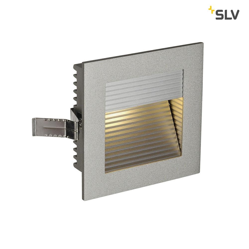 Einbauleuchte FRAME CURVE LED silbergrau, LED warmweiß