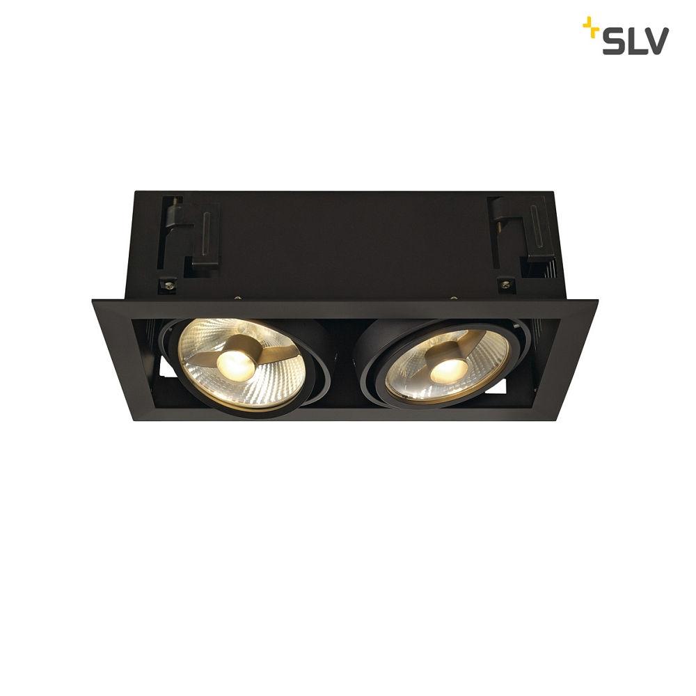deckeneinbaustrahler kadux 2 es111 downlight 2xgu10 230v ks licht onlineshop leuchten aus. Black Bedroom Furniture Sets. Home Design Ideas