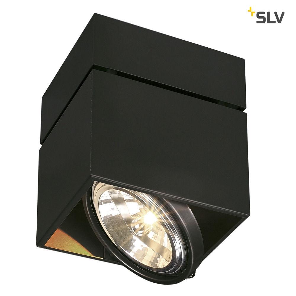deckenstrahler kardamod surface square qrb111 single eckig g53 schwarz ks licht onlineshop. Black Bedroom Furniture Sets. Home Design Ideas