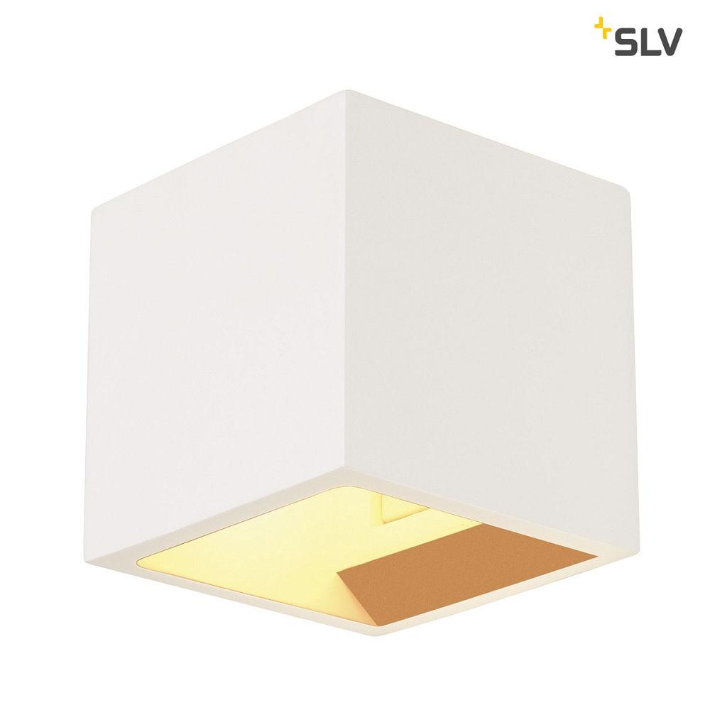gips wandleuchte plastra cube eckig g9 max 42w wei ks licht onlineshop leuchten aus essen. Black Bedroom Furniture Sets. Home Design Ideas