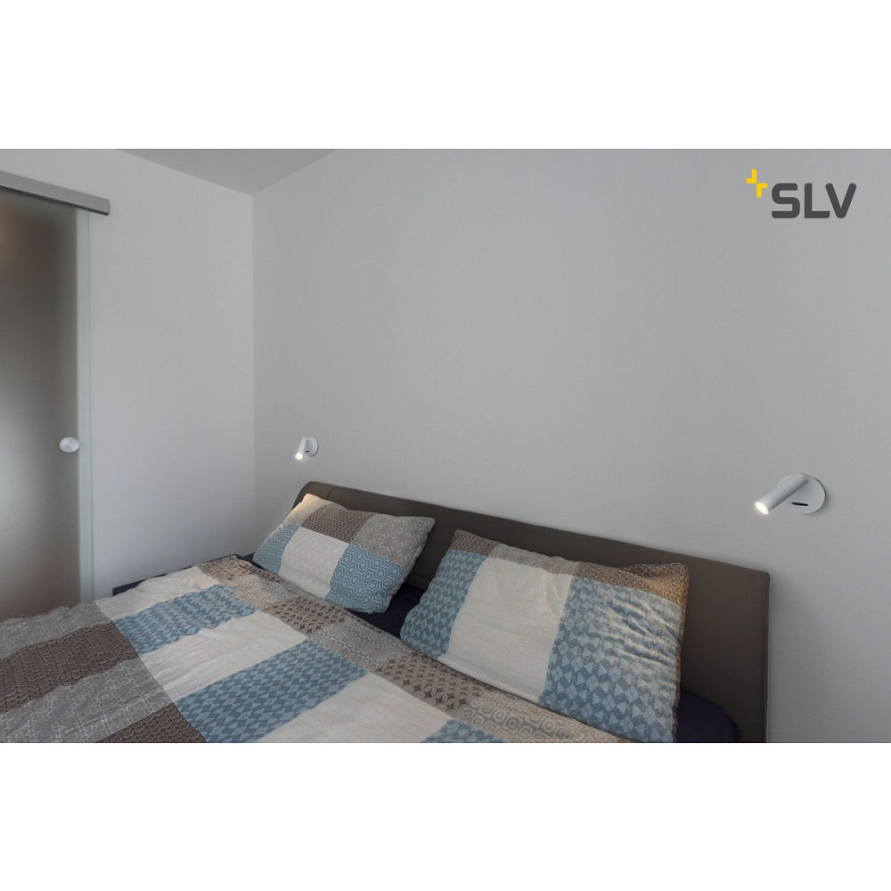 led wandstrahler karpo led deckenstrahler rund 7 5w led 3000k mit schalter wei ks licht. Black Bedroom Furniture Sets. Home Design Ideas