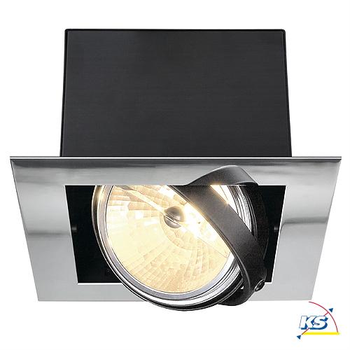 einbaustrahler aixlight flat single qrb111 ks licht onlineshop leuchten aus essen. Black Bedroom Furniture Sets. Home Design Ideas