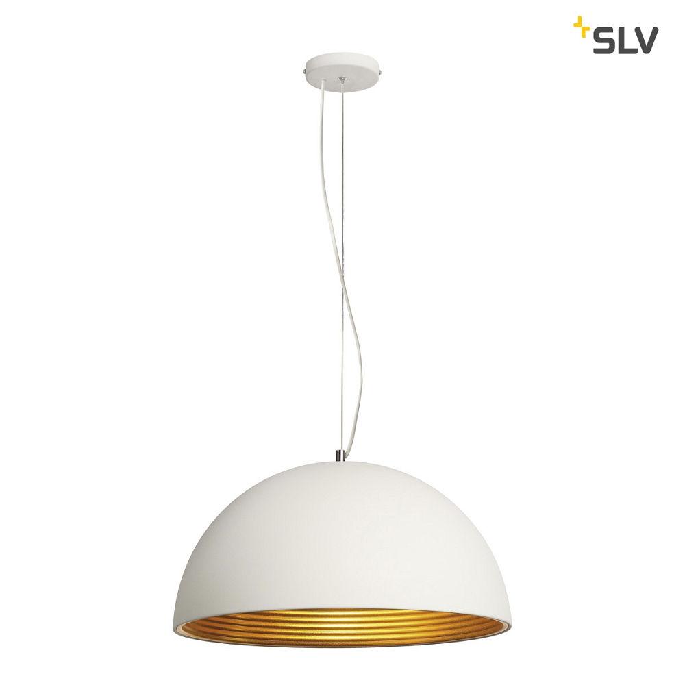pendelleuchte forchini m pd 1 50 cm wei gold ks licht onlineshop leuchten aus essen. Black Bedroom Furniture Sets. Home Design Ideas