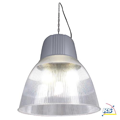 pendelleuchte para dome 2 hqi 250w 400w silbergrau ks licht onlineshop leuchten aus essen. Black Bedroom Furniture Sets. Home Design Ideas