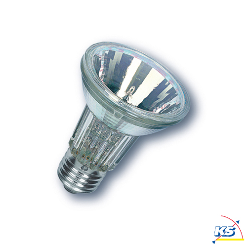 radium ralogen par 20 reflektorlampe klar mit alu beschichteten reflektor sockel e27 50 watt. Black Bedroom Furniture Sets. Home Design Ideas