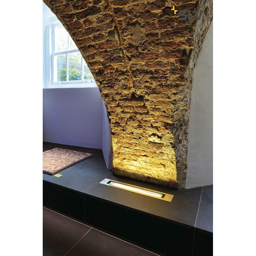 einbauleuchte dasar t5 14 edelstahl ks licht onlineshop leuchten aus essen. Black Bedroom Furniture Sets. Home Design Ideas