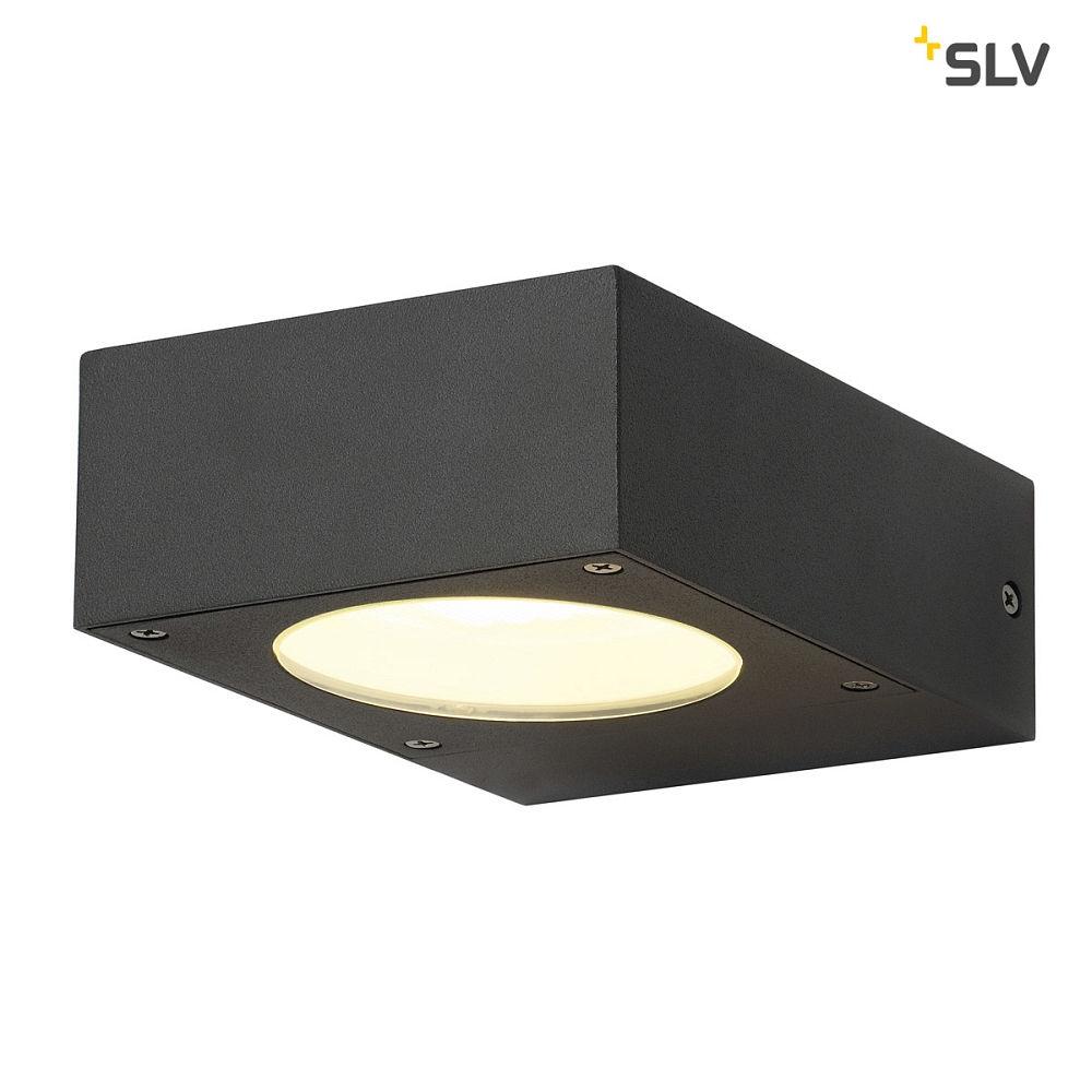wandleuchte quadrasyl wl 15 eckig gx53 max 11w anthrazit ks licht onlineshop leuchten. Black Bedroom Furniture Sets. Home Design Ideas