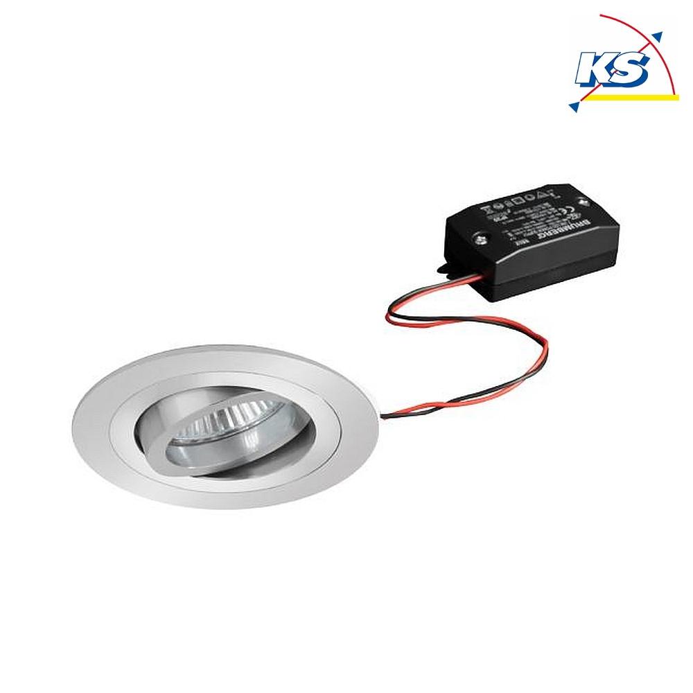 Zuschnittmaß Ø 90mm LED Einbaustrahler rund 8W 650Lm 2300-4000K 120°  IP44