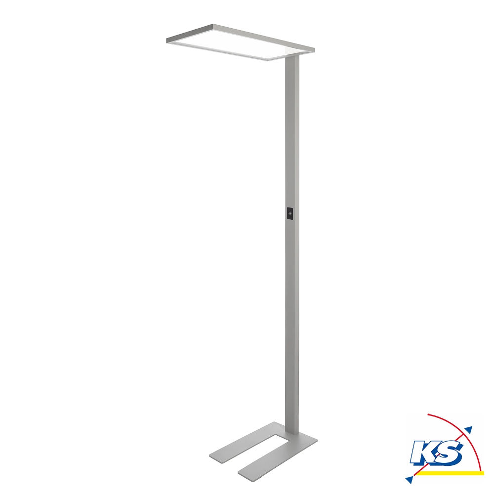 Led Stehleuchte Office One Transparent 55w 4000k Dimmbar