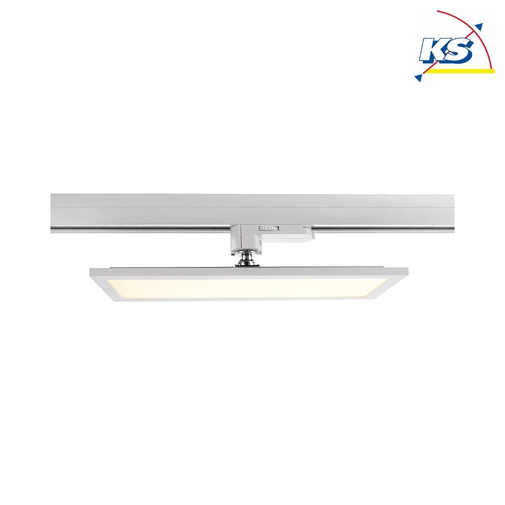 Deko Light LED 20 Phasen Leuchte PANEL TRACK LIGHT, 20W 20K 20lm 20°,  Weiß matt