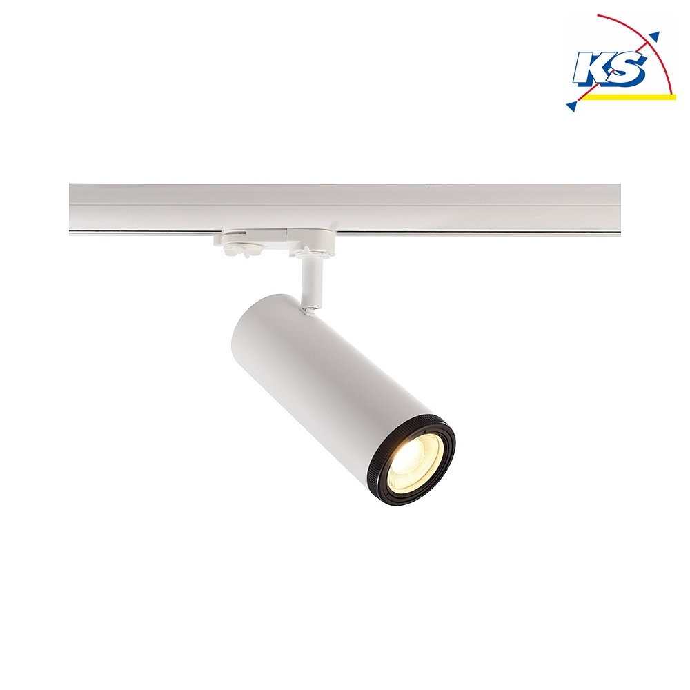 Deko Light LED 20 Phasen Strahler PLEIONE FOCUS I, 20W 20000K 20lm 20 20°,  Weiß