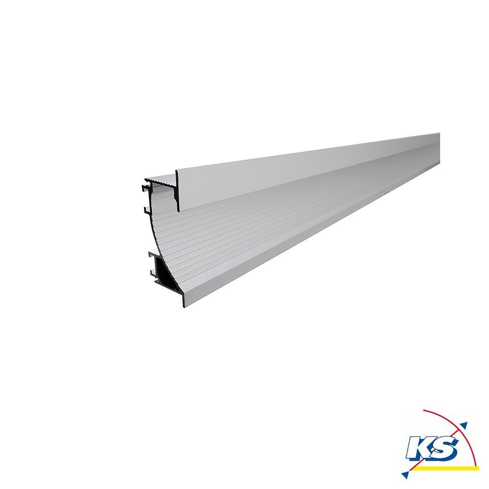 Deko Light Trockenbau Profil Wandvoute EL 20 20 für 20 – 20,20 LED Strips,  Länge 20, silber matt eloxiert