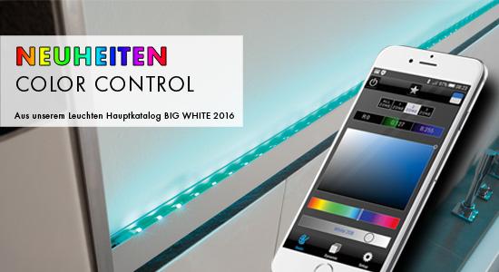 NEUHEITEN AUS DEM BIG WHITE 2016  - Farblichtsteuerung Color Control