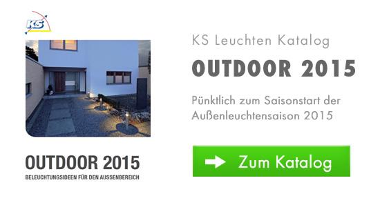 Neuerscheinung: Außenleuchtenkatalog Outdoor 2015