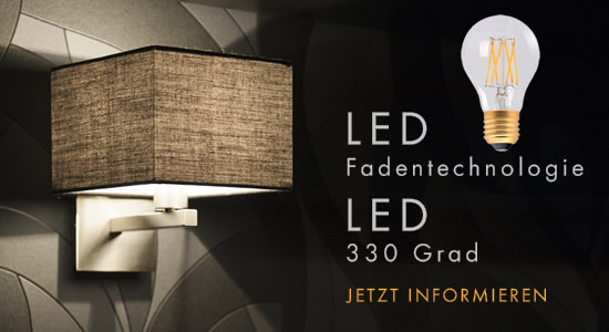 LED Fadentechnologie und LED 330°