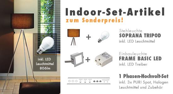 Indoor-Set-Artikel zum Sonderpreis