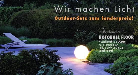 Outdoor-Set-Artikel zum Sonderpreis