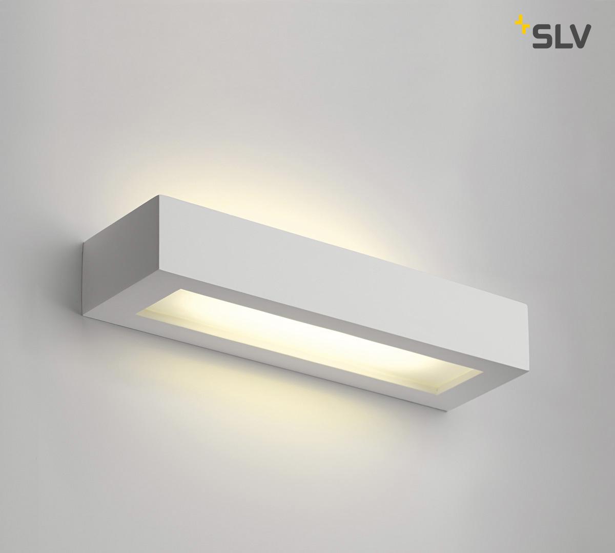 gips wandleuchte gl 103 t5 wei slv ks licht onlineshop leuchten aus essen. Black Bedroom Furniture Sets. Home Design Ideas