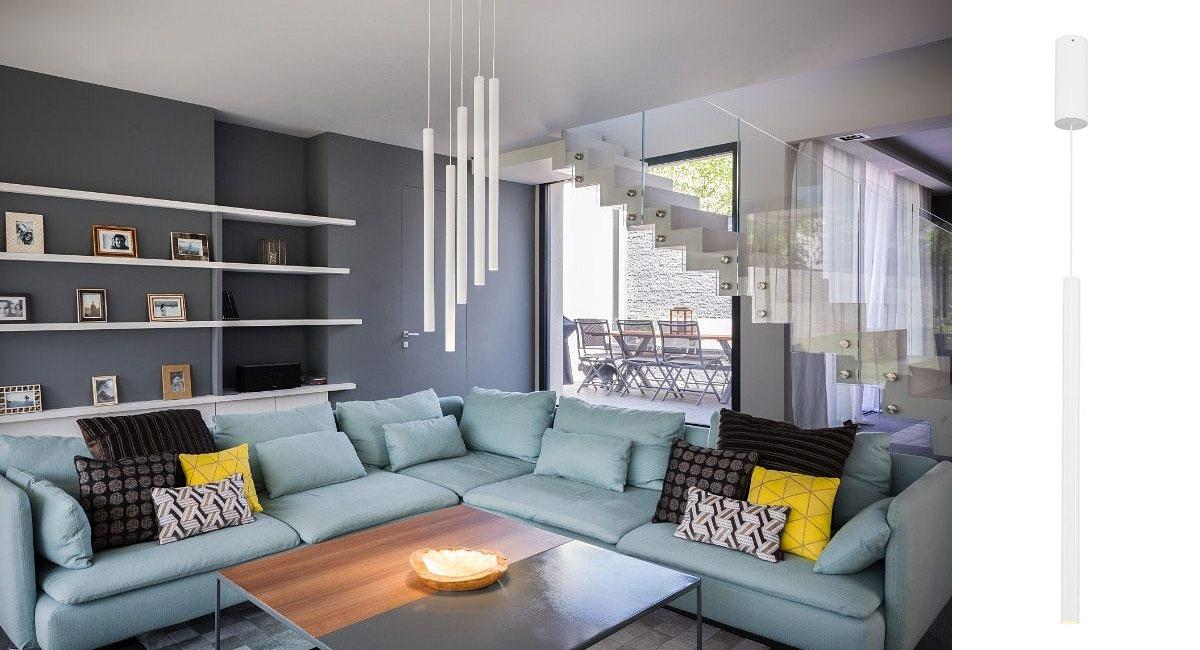 led pendelleuchte helia 30 led rund 7 5w led 40 3000k. Black Bedroom Furniture Sets. Home Design Ideas