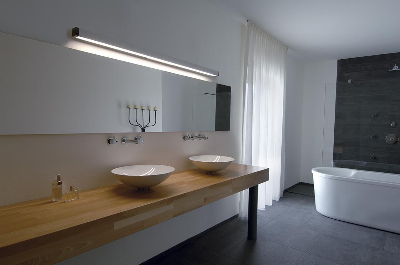 wandleuchte q line wall aluminium natur ks licht. Black Bedroom Furniture Sets. Home Design Ideas