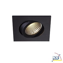 LED Einbauleuchte PIREQ 68 INTEGRATED, square, 6.5W 3000K 580lm 38°