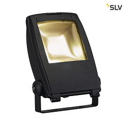 LED Outdoor Strahler FLOOD LIGHT, 32W 90°, IP65, 3000K 2200lm, Schwarz matt