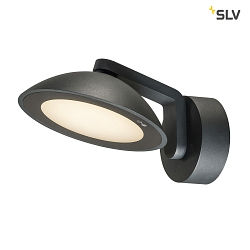 LED Outdoor Wandaufbauleuchte MALU WL, IP55 IK06, 9.2W 3000K 360lm 100°, Anthrazit