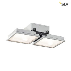 LED Outdoor Deckenleuchte ALMINO PD DOUBLE, UGR<19, IP65 IK08, 90W 4000K 11000lm 50°
