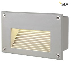 LED Wandleuchte BRICK LED DOWNUNDER silbergrau, 3000K