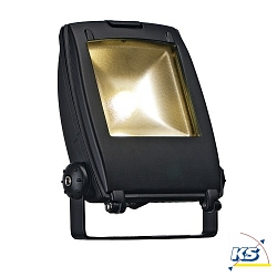 Strahler LED FLOOD LIGHT, schwarz, 10W, 120°, LED warmweiß