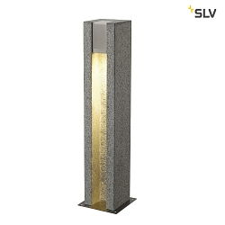 Stehleuchte ARROCK SLOT GU10, eckig, Granit, salt & pepper, max. 4W LED