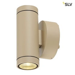 LED Außenwandleuchte HELIA UP/DOWN LED, 38°, 3000K, IP55, beige