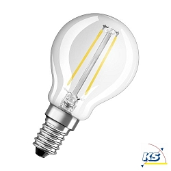 RADIUM LED-Tropfenlampe Star Plus Drop Ambiente Lux RL-D25, 2,1 Watt, E14 AL