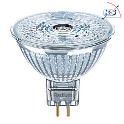 Radium LED Niedervolt-Reflektorlampe Star NV-RetroFit MR16, 12V, GU5.3, 4.6W 3000K 350lm 950cd 36°