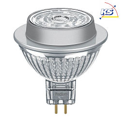 Radium LED Niedervolt-Reflektorlampe Star NV-RetroFit MR16, 12V, GU5.3, 7.2W 2700K 621lm 1430cd 36°
