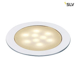 Bodeneinbauleuchte LED SLIM LIGHT, alu eloxiert, LED warmweiß - Ideal für Laminat