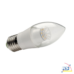 LED-Kerzenlampe E27, 6W SMD LED, 2700K, A+