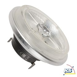Philips Master LED Leuchtmittel QRB, 11W, 24°, G53, 2700K, 560lm, dimmbar