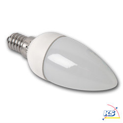 LED-Kerzenlampe E14, 4W SMD LED, 2700K