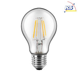 LED Lampe Filament Birnenform E27, 12W, 1521lm, 2700K Warmweiß, 300°