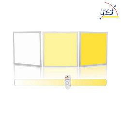 Blulaxa LED Panel 40 Watt 62x62cm, 3000-6000K, warmweiß - kaltweiß