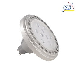 Deko-Light LED Leuchtmittel, LED ES111, GU10, 12W 3000K 800lm 30°