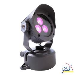 LED Außenstrahler POWER SPOT IV RGB, 24V DC, 6W, 30°, anthrazit