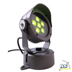 LED Außenstrahler POWER SPOT V RGB, 24V DC, 12W, 30°, anthrazit