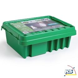 DRiBOX Kabelschutzbox / Verteilerbox Outdoor - IP55 - 33 x 23 x 14 cm, grün
