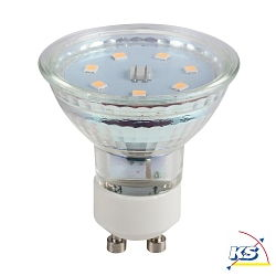 LED Leuchtmittel GU10, 3W, warmweiß, 7 SMD LED