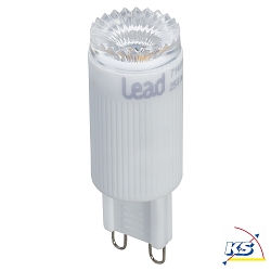 Lead Energy LED Leuchtmittel G9, 3W, warmweiß, LEAD DYNAMIC