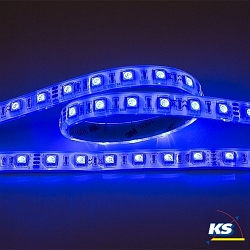 LED Strip Flexible LED SMD 5050, 5m, RGB, 14,4W/m, 24V, IP67
