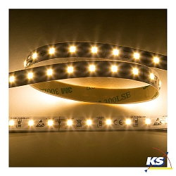Flexible LED SMD 2835, LED-Schlauch, 200cm, 3000K, 5W/m, 560lm/m, 24V, dimmbar